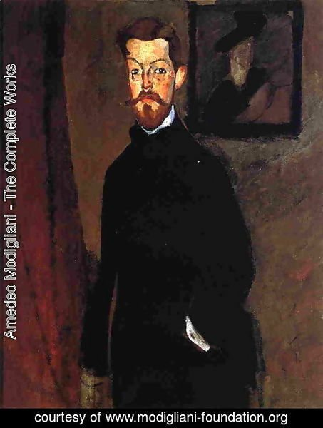 Amedeo Modigliani - Portrait of Dr. Paul Alexandre