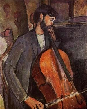 Amedeo Modigliani - The Cellist