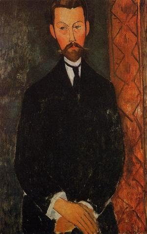 Amedeo Modigliani - Portrait of Paul Alexander