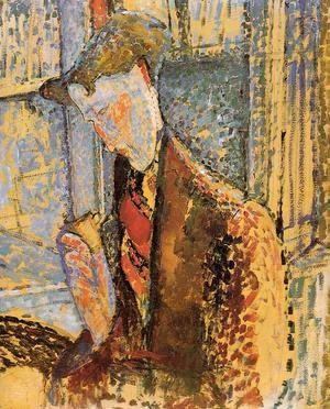 Amedeo Modigliani - Portrait of Frank Burty Haviland