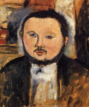 Amedeo Modigliani - Portrait of Diego Rivera III