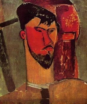 Amedeo Modigliani - Portrait of Henri Laurens