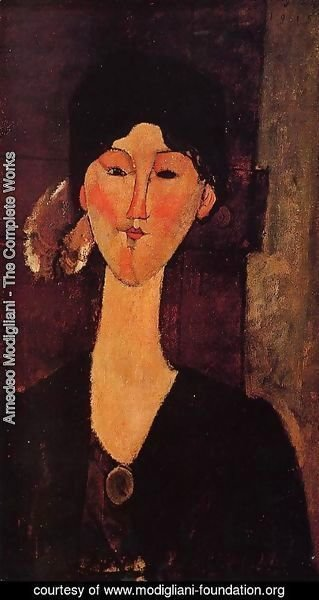 Amedeo Modigliani - Portrait of Beatrice Hastings I