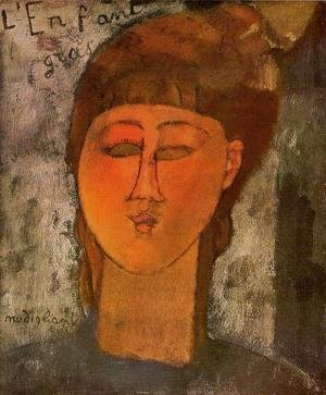 Amedeo Modigliani - The Fat Child