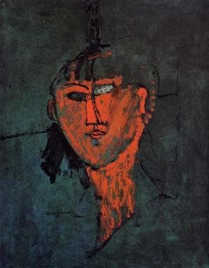 Amedeo Modigliani - Head
