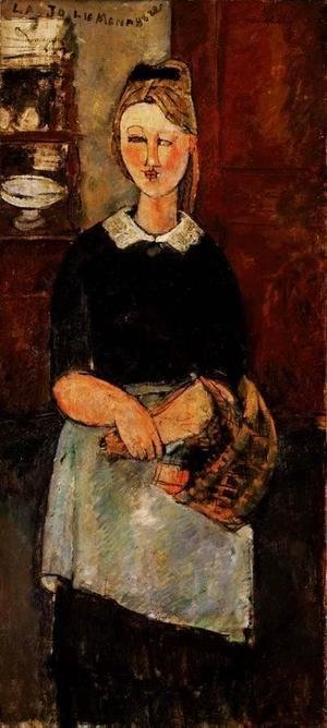 Amedeo Modigliani - The Pretty Housewife