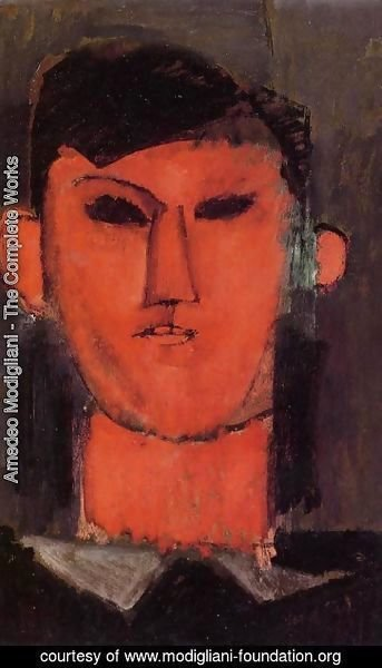 Amedeo Modigliani - Portrait of Picasso