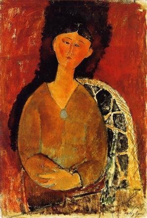 Amedeo Modigliani - Beatrice Hastings, Seated