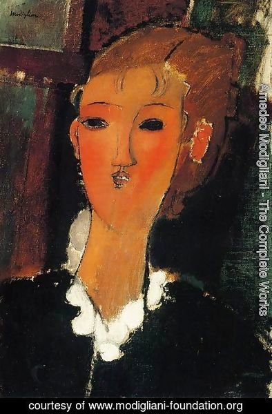 Amedeo Modigliani - Young Woman with a Small Ruff