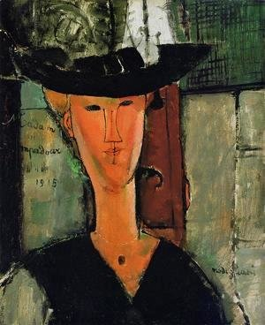 Amedeo Modigliani - Madame Pompador