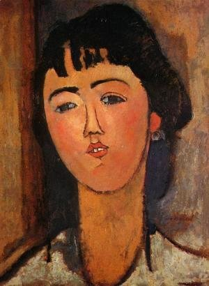 Amedeo Modigliani - Portrait of a Woman I