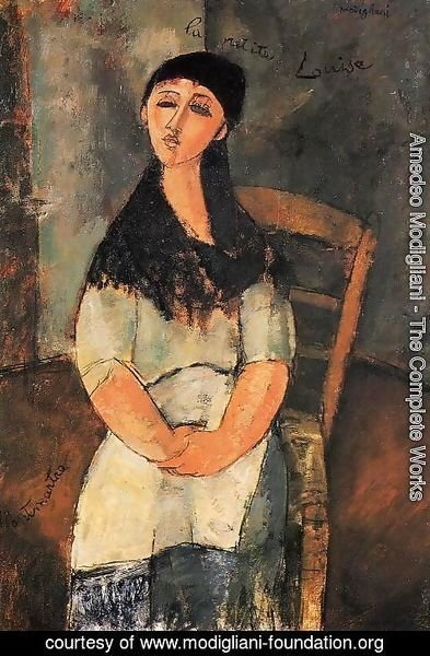 Amedeo Modigliani - Little Louise