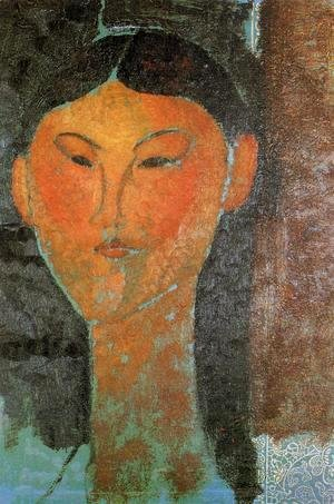 Amedeo Modigliani - Portrait of Beatrice Hastings II