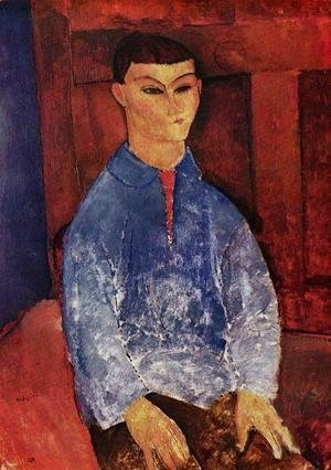 Amedeo Modigliani - Portrait of the Painter Moise Kisling I