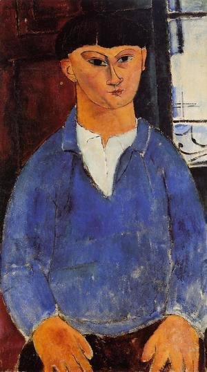 Amedeo Modigliani - Portrait of Moise Kisling I