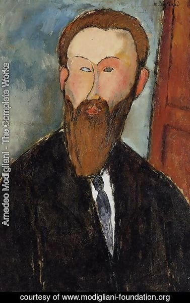 Amedeo Modigliani - Portrait of the Photographer Dilewski