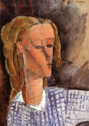 Amedeo Modigliani - Portrait of Beatrice Hastings IV