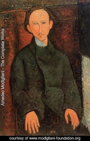 Amedeo Modigliani - Portrait of Pinchus Kremenge