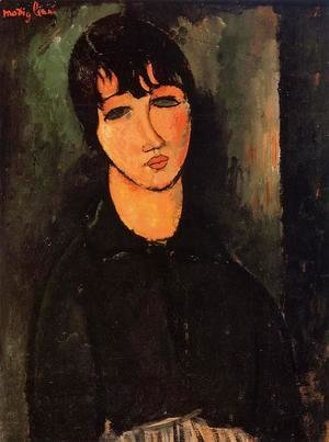 Amedeo Modigliani - The Servant