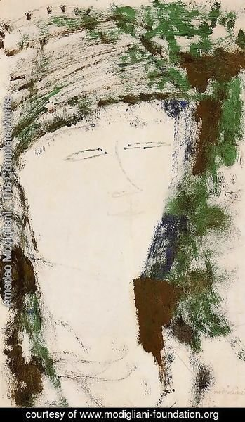 Amedeo Modigliani - Portrait of Beatrice Hastings V