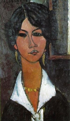 Amedeo Modigliani - Woman of Algiers
