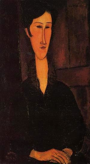 Amedeo Modigliani - Portrait of Madame Zborowska