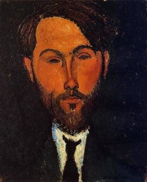 Amedeo Modigliani - Portrait of Leopold Zborowski I