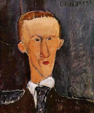 Amedeo Modigliani - Portrait of Blaise Cendrars