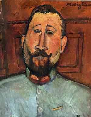 Amedeo Modigliani - Portrait of Doctor Devaraigne