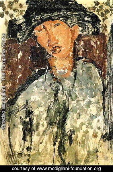Amedeo Modigliani - Chaim Soutine I