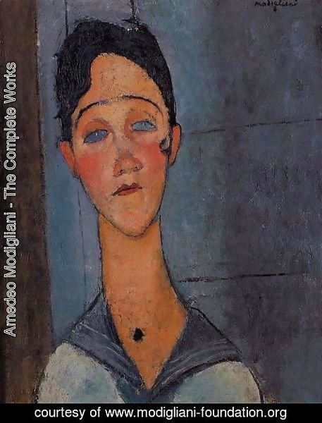 Amedeo Modigliani - Louise