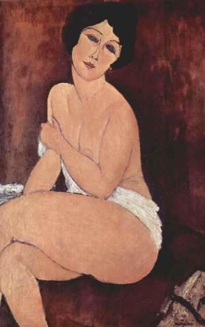 Amedeo Modigliani - Seated Nude I 2
