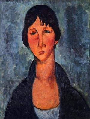 Amedeo Modigliani - The Blue Blouse