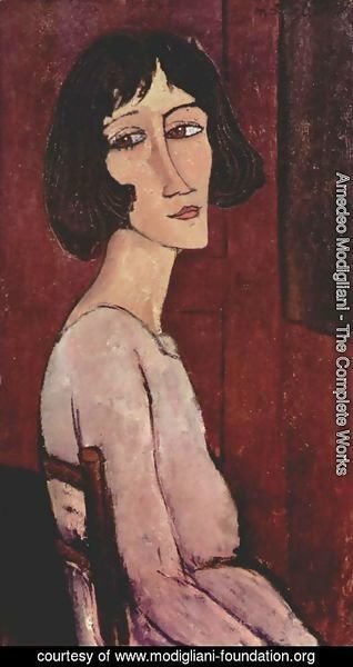 Amedeo Modigliani - Portrait of Marguerite