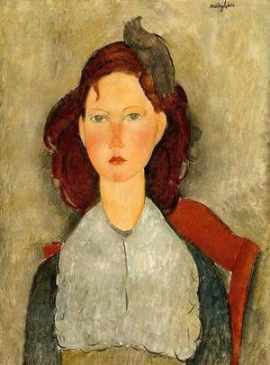 Amedeo Modigliani - Young Girl Seated