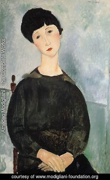 Amedeo Modigliani - Seated Young Woman