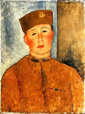 Amedeo Modigliani - The Zouave 2