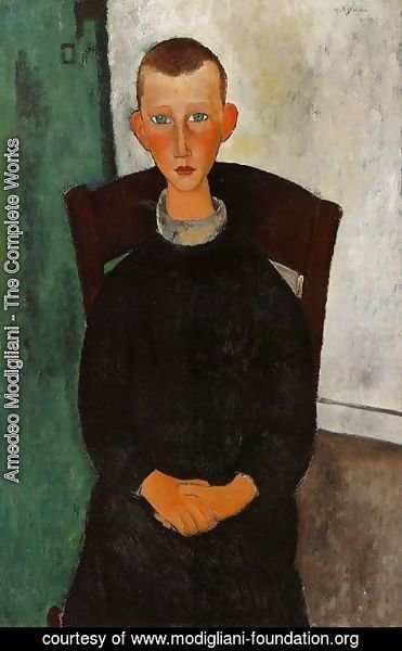 Amedeo Modigliani - The Son of the Concierge