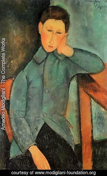 Amedeo Modigliani - The Boy