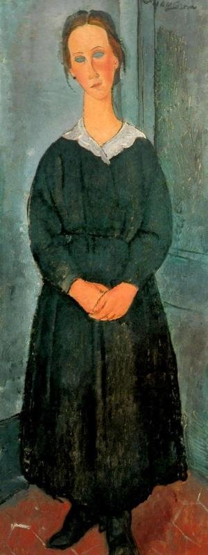 Amedeo Modigliani - The Servant Girl
