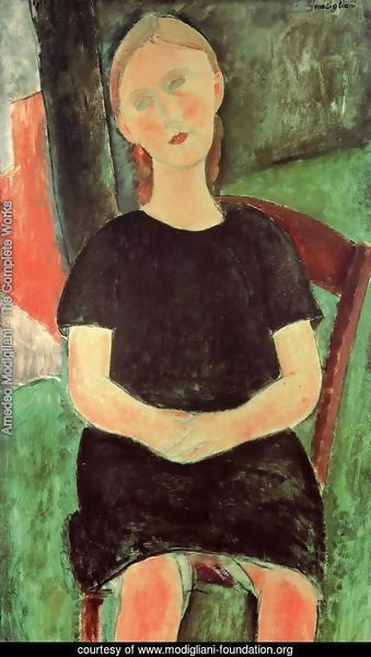 Seated Young Woman I
