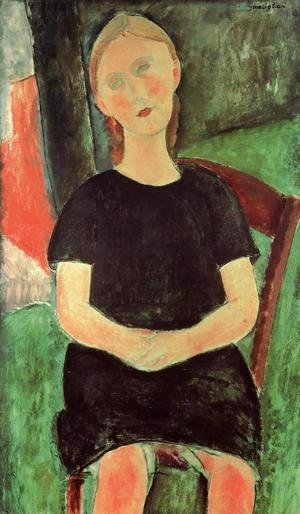 Amedeo Modigliani - Seated Young Woman I