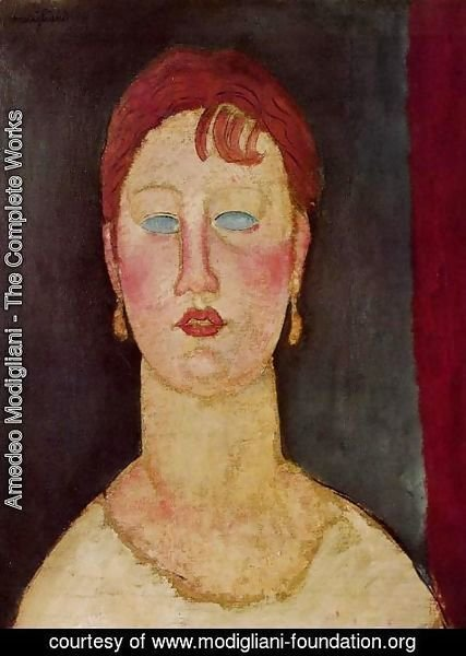 Amedeo Modigliani - The Singer from Nice