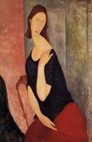 Amedeo Modigliani - portrait de madame L