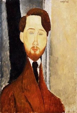 Amedeo Modigliani - Portrait of Leopold Zborowski II