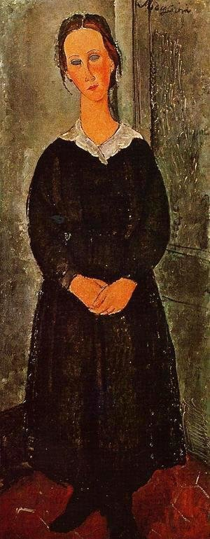 Amedeo Modigliani - Young Servant Girl