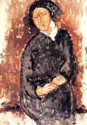 Amedeo Modigliani - Seated Woman