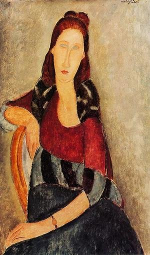 Amedeo Modigliani - Portrait of Jeanne Hebuterne III 2