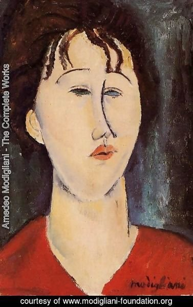 Amedeo Modigliani - Woman's Head I