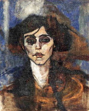 Amedeo Modigliani - Portrait of Maude Abrantes